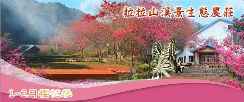 拉拉山民宿.溪景生態農莊